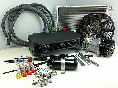 A/C KIT UNIVERSAL UNDER DASH EVAPORATOR COMPRESSOR KIT AIR CONDITIONER 404-1 12V