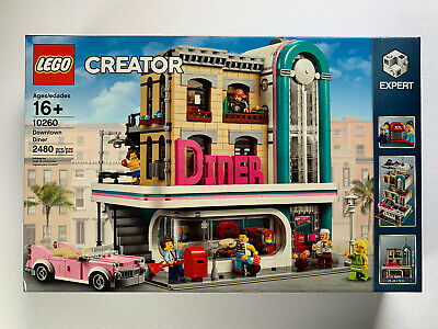 LEGO Creator DOWNTOWN DINER - 10260 - NEW in factory SEALED box Rare Set City