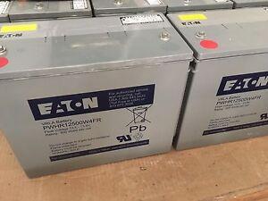 New Eaton 12V AGM Deep Cycle batteries