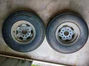 10 inch trailer wheels and tyres Pelican Waters Caloundra Area Preview