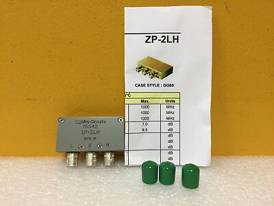 Mini-circuits Zp-2lh 50 To 1000 Mhz Bnc F Coaxial Frequency Mixer. Tested