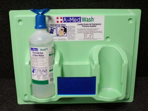 A-MED Eye Wash Station, 32 oz. Bottle Size, EXP. 03-2020