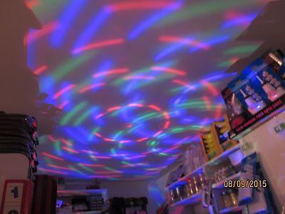 Disco Party Light - Fits Reg Light Socket, Rotating, Ceiling, DJ's, Dance Clubs](Disco Ceiling Light)
