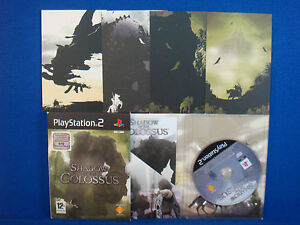 ps2 SHADOW OF THE COLOSSUS Limited Edition + 4 Art Cards VGC PAL UK VERSION