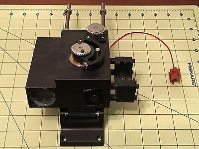 Olympus Spectra Tech - Nicolet Raman Unknown Microscope Section