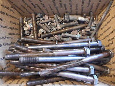 International Dt466e Diesel Lot Misc Bolts From Tear Down Engine 25 Lbs.