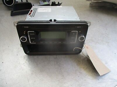 VOLKSWAGEN VW GOLF PLUS MK5 2008 CD PLAYER RADIO HEAD UNIT STEREO 5M0035156A