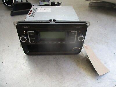 VOLKSWAGEN VW GOLF PLUS MK5 2008 CD PLAYER RADIO HEAD UNIT STEREO 5M0035156A