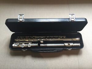 Flute- Carlton outfit, silver plated