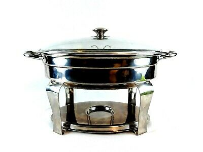 Costco 4.2 Quart Stainless Oval Chafing Dish 456107