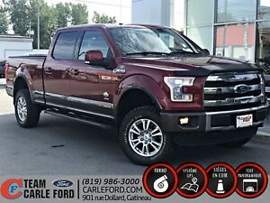 Ford F-150 King Ranch 2015, toit panoramique, Gps, Cuir