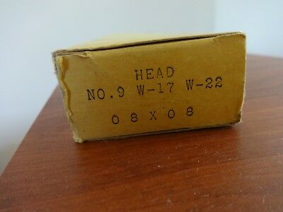 Oxweld Size 9 Acetylene Welding Head For W-17 22torch