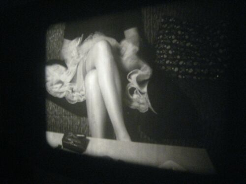 1950s Vintage 16mm film .. model ,  ....