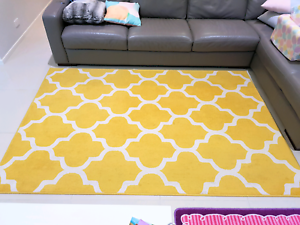 Yellow Floor Rug