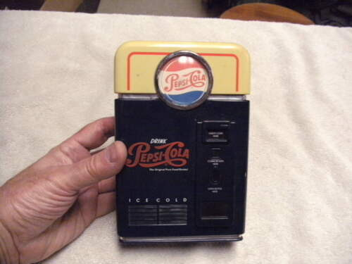 VINTAGE 1998 PEPSI COLA COIN SORTING BANK, Pre Owned, See Pictures