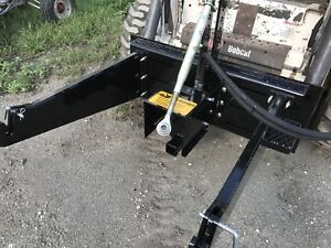 3 point hitch adapter for skid steer
