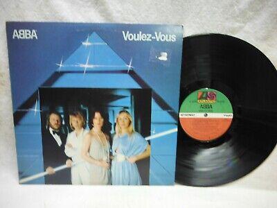 """ABBA """"VOULEZ~VOUS"""" 1979 LP RECORD~ALTANTIC SD 16000"""