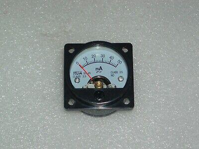 Analog Panel Meter Ac 0-50ma Ammeter So-45 Amper Meter 0-0.05a