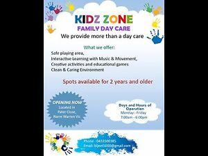 FAMILY DAY CARE Narre Warren Casey Area Preview