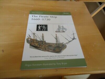 @@@ THE PIRATE SHIP 1660-1730 ANGUS KONSTAM NEW VANGUARD OSPREY BRAND NEW @@@