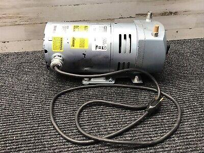 Gast 0523-101q-g588ghdx Rotary Vane Vacuum Pump.ge Motor 5kh140dfk19x