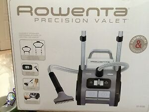 NEW Rowenta Precision valet steam cleaner