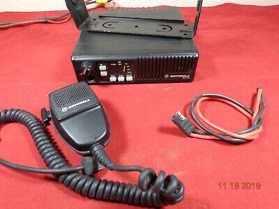 Motorola Maxtrac Uhf 16ch Mobile Radio Model D34mja7ja5ak  Xtras C27