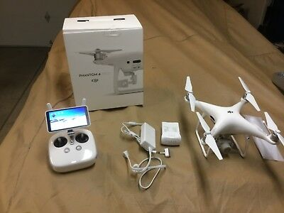 "DJI Phantom 4 PRO+ PROFESSIONAL PLUS Drone 20MP + 5.5"" TABLET DISPLAY (Used)"