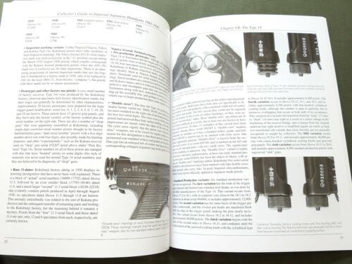 """""""COLLECTORS GUIDE TO IMPERIAL JAPANESE HANDGUNS"""" WW2 NAMBU PISTOL REFERENCE BOOK"""