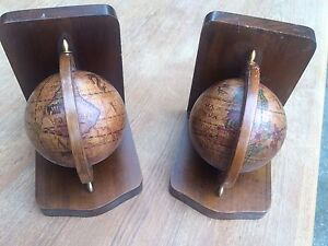 Wood Globes - spinning