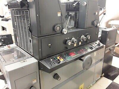 Ab Dick 9985 2 Color Offset Printing Press W Kompac 16 Mil Imp. New In 2005