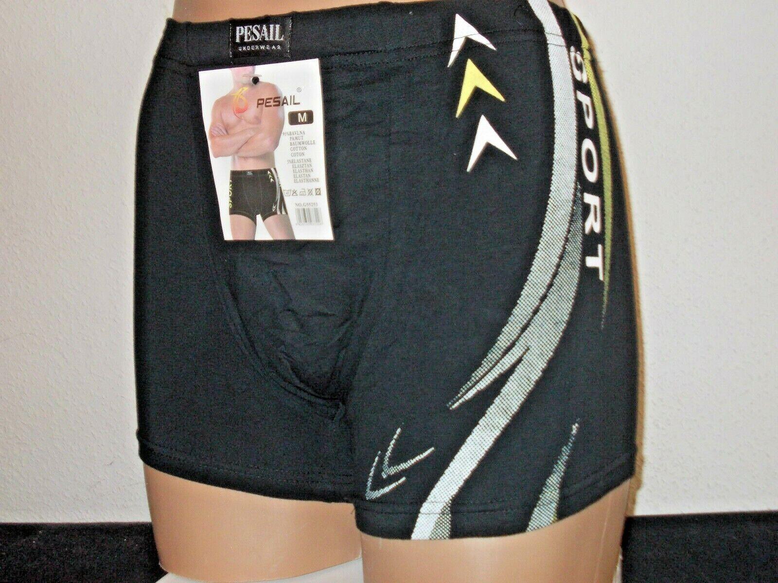 6624fb03d6 4 Herren Boxershorts - Retroshorts Wäsche Unterhosen Sport M L XL XXL XXXL*