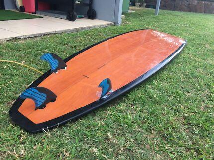 7'6 mini mal longboard surfboard