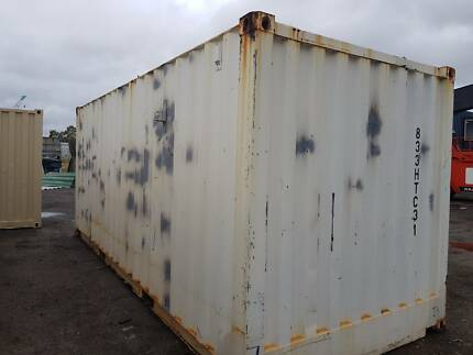 sea shipping container 20ft workshop