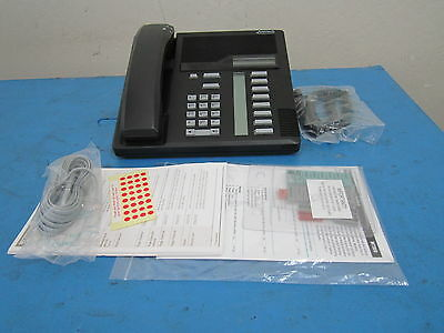 Northern Telecom Nt Nortel Nt8b30ag-03 M7208 Black Business Phone