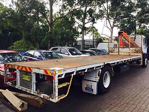 ISUZU FVR950 LWB 4X2 TABLE TOP PALFINGER CRANE 16000GVM Fairfield East Fairfield Area Preview