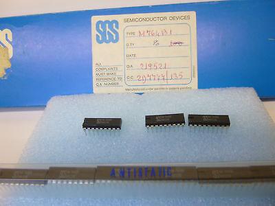 2 Stück / 2 pieces M764B1 TONE RINGER IC RUFTON TELEPHONE DIP16 NEU NEW ()