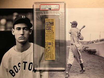 Boston Red Sox New York Yankees September 20 Ticket Stubs Sports Mem, Cards & Fan Shop 1959 Ticket Stub Mlb Howard Hr Complete In Specifications