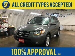 2009 Hyundai Santa Fe LIMITED*AWD*LEATHER*POWER SUNROOF*POWER HE