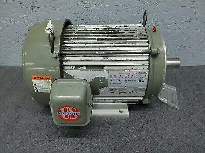 Us Electrical 7.5 Hp Ac Motor 213tc Frame 230460 Vac 3510 Rpm Te 3 Phase