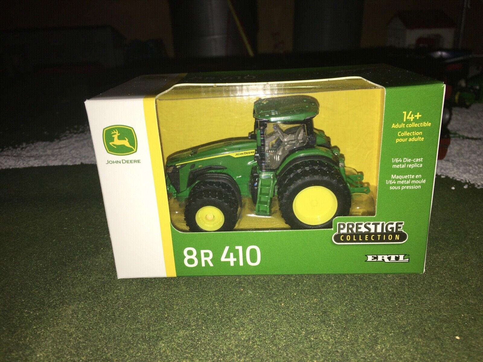 1/64 Ertl John Deere 8R 410 Prestige Collection Tractor w/ Duals