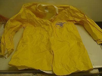 Dupont Tychem Qc Disposable Collared Shirt Size Medium