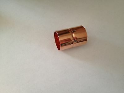 12 Copper Coupling Rolled 20pcs Plumbing Parts Fitting