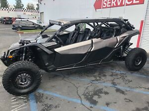 2018-2019 Can-Am Maverick X3 MAX Lower Door Half doors panels kit 715003751AL