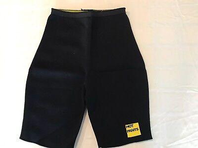 HOT PANTS Body Shaper Neoprene Pants Workout SZ L (No Tag See Pics) Black - Adult Pics Hot