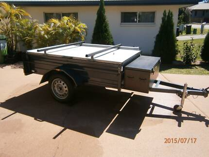 Trailer with Weatherproof Hinged Lid, Tent and Gazebo Cannonvale Whitsundays Area Preview