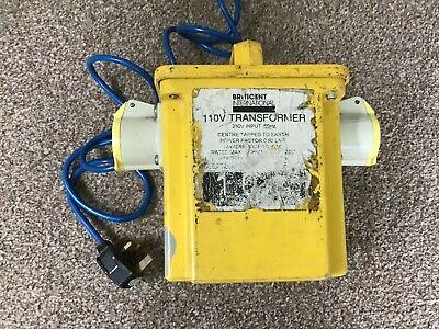 110 Volt Site Transformer 2 x 16 Amp outlets Briticent