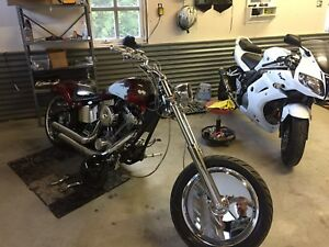 Chopper softail 1986 vga