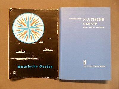 Buch, Nautische Geräte, Aufbau, Wartung, Anwendung, Schifffahrt, DDR 1963