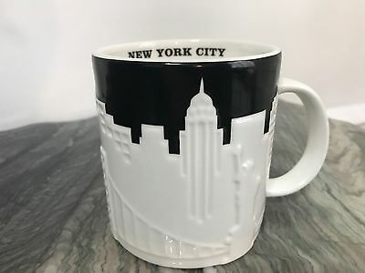 Starbucks New York City Mugs TAXI 16 FL OZ NEW HOLIDAY EDITION